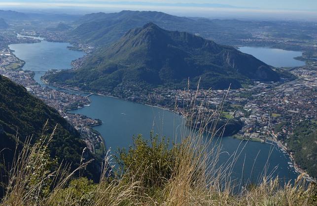 panorama lago di Lecco